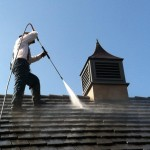 Power Washing Tile Roof Services