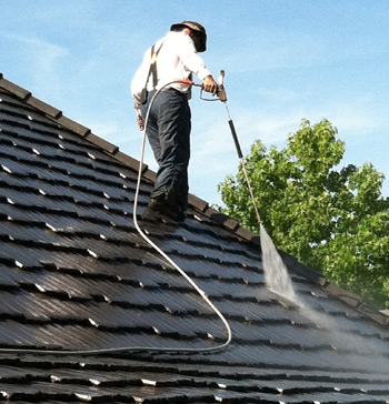 Roof Cleaning in Huntington Beach CA